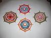 плетёные мандалы, Ojo de Dios, обереги, мандала, мастер-класс, плетение мандал, уичоли, сикули